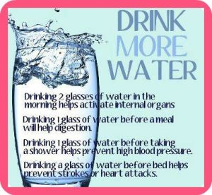 water!